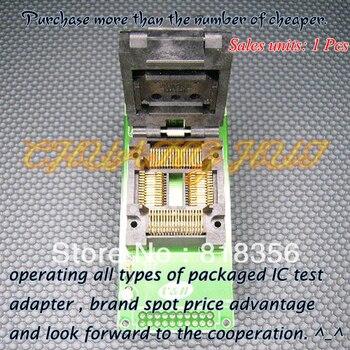GA7515-64QFP Programmer Adapter TQFP64 QFP64 IC Test Socket bm1114a programmer adapter pm rtc005 312b ic51 0644 675 tqfp64 qfp64 adapter ic socket ic test socket