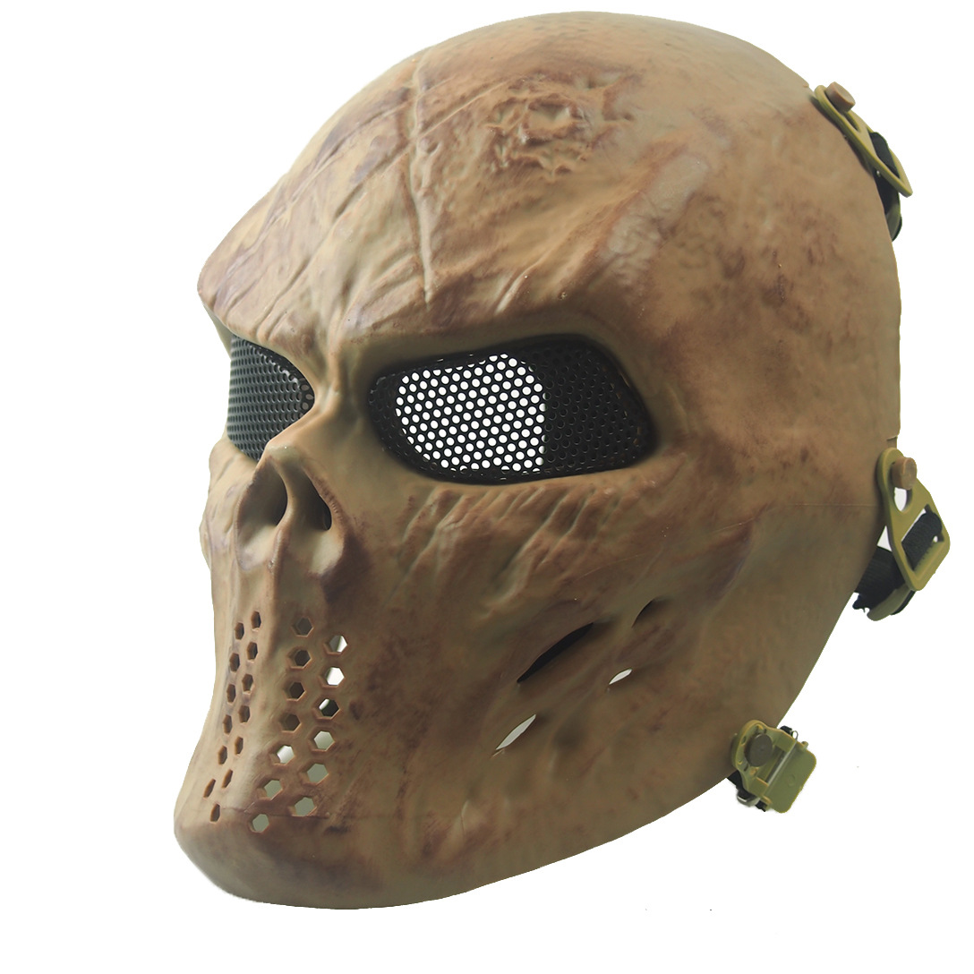 Online Shop [Bio safe] Ghost Camouflage Tactical Skull Mask Zombie ...