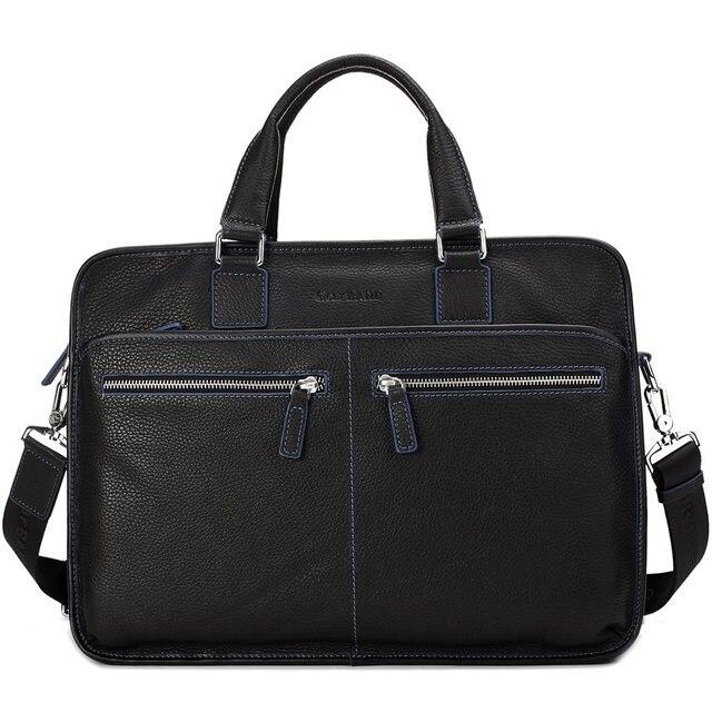 2013 autumn and winter line color block series cowhide cross-body handbag briefcase