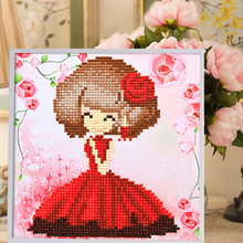 Cartoon 3D Puzzle DIY Resin Material Handmade Wooden frame Puzzles For Children Educational Toys Gift For Children T001