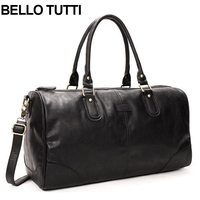 BELLO TUTTI Men S Travel Bags High Quality Man Travel Handbag Large Capacity Traveling Luggage Duffle