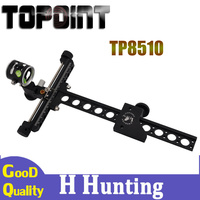 4x Magnifying Lens 1 Needle 0.059 Inch Compound Bow Sight with Trimmer Long Rod for Hunting Archery Compound Bow Accessory|adjustable bow sight|hunting bow sights|bow sight -