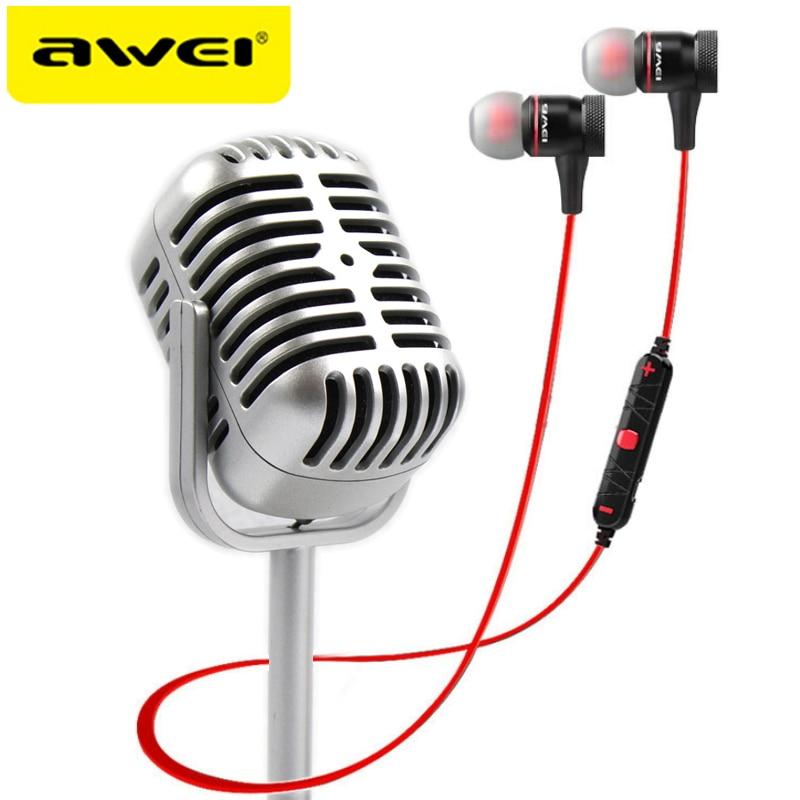 AWEI A920BL Cuffie Bluetooth Auricolare Senza Fili Auricolare Magnetica kulaklik Audifonos Auriculares Fone De Ouvido Ecouteur