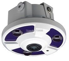 New 2 megapixels 1080p 2.0MP full hd 180 panoramic camera wide angle Fisheye IR security network ip camera