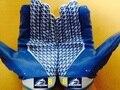 Бесплатная Доставка, классика Многофункциональные перчатки, Сцепление Американский футбол перчатки, настроить логотип. имя, команда., на заказ