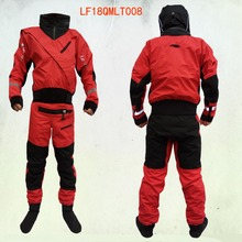 Новый полный сухой костюм спереди Tizip введите молния с капюшоном drysuits, сухой костюмы для whitewater, каяк, парусный спорт, рыбалка
