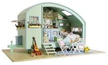 Miniature Caravan Dollhouse 3D doll house