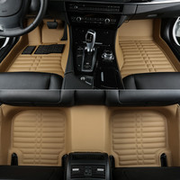 Best quality! Custom special floor mats for BMW X6 F16 2017-2015 Easy to clean waterproof wear-resisting carpets,Free shipping