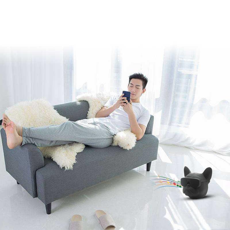 Hopestarブルドッグbluetoothスピーカーワイヤレスポータブルmp3 palyerスピーカーミニオーディオラジカセ用iphone xiaomi電話カイシャ·デ·ソム