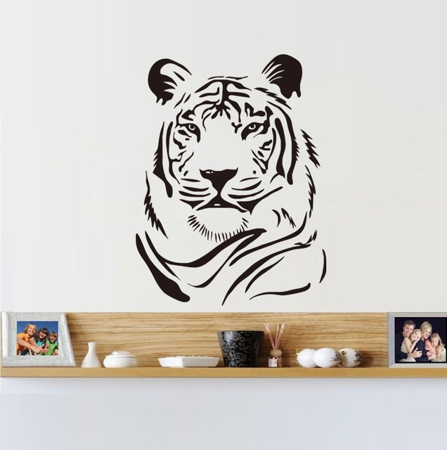 New Tiger Avatar Vinyl Decals Home Decor Living Room Bedroom Art Mural Removable Wall Stickers