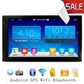 Android 2 DIN 4.4 Универсальный Стерео 7 дюймов 1024x600 GPS Навигация, WI-FI Радио Bluetooth USB/SD Player 1.6 Г Четырехъядерный ПРОЦЕССОР 1 Г