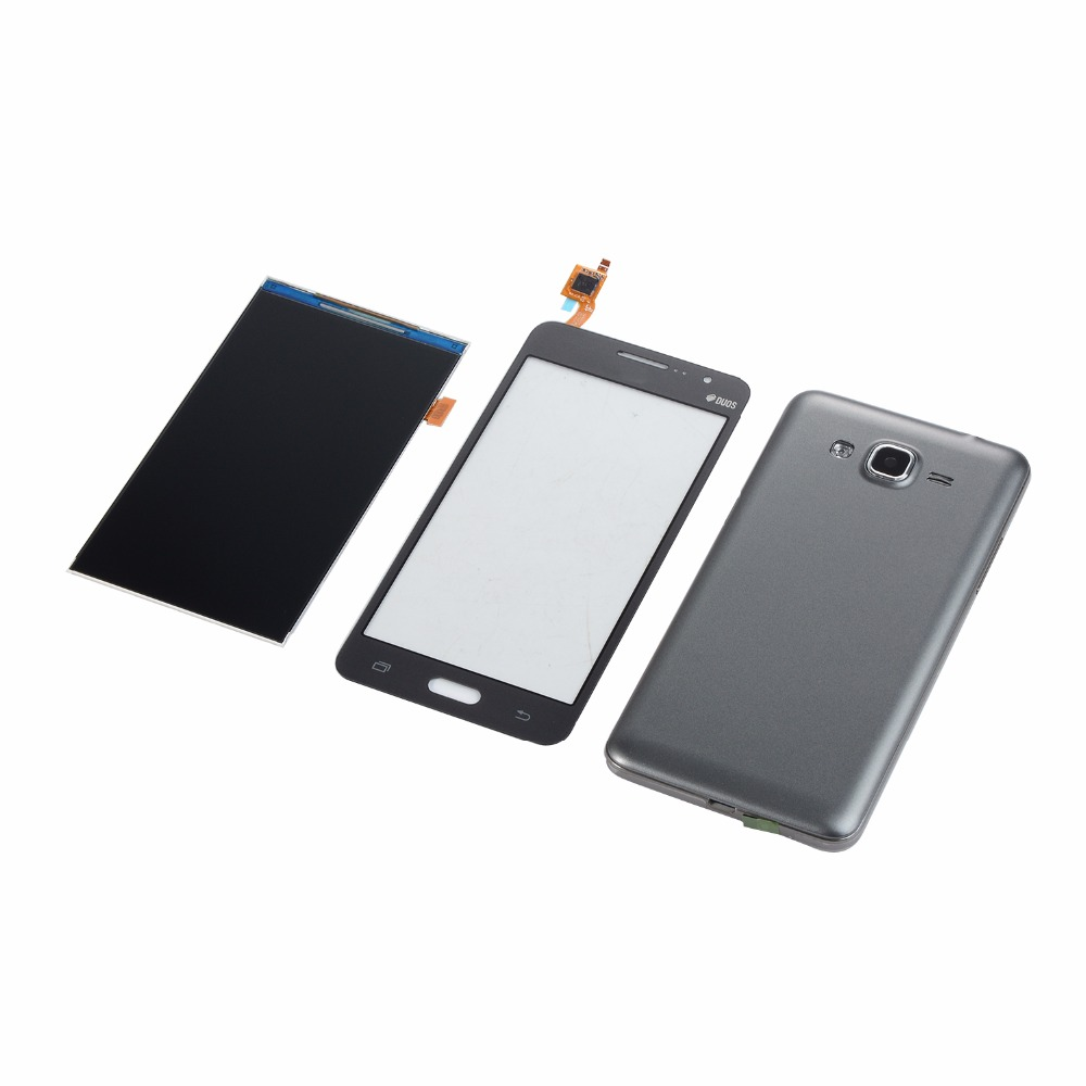 For Samsung SM-G531 G531 Touch Screen LCD Display Housing Middle Frame Battery Back Cover G531 LCD Display Touch Screen
