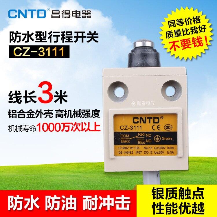 HWEXPRESS  TZ CZ-3111 Waterproof Defence Oil Stroke Switch Fretting Limit Switch   IP67 ip j00 cz