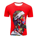 2017 New Fashion 3D T Shirt SYJON Brand Thinker Print T-Shirt O-Neck T Shirt For Men Short Sleeve HipHop Harajuku Tshirt Tee