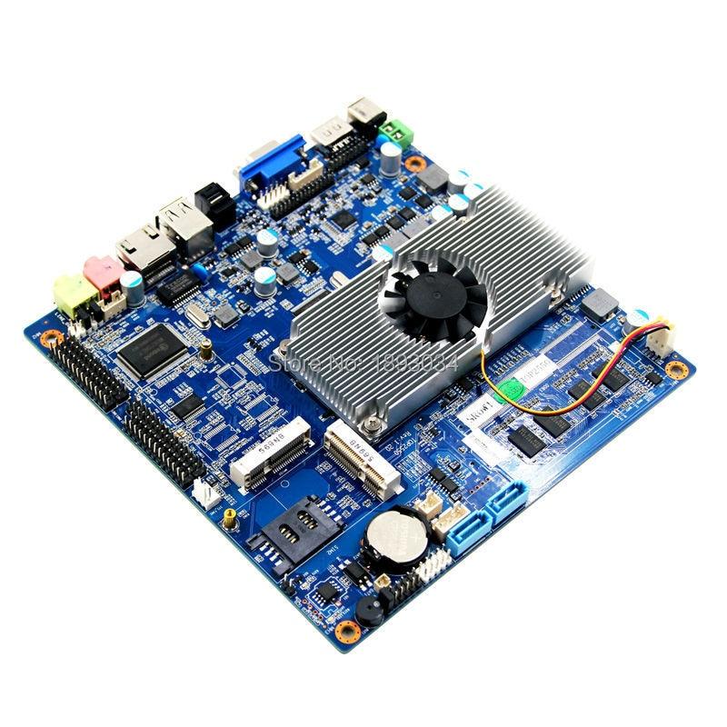 DC 12V ATOM D2700/D2550 Dual Core Mini-ITX Motherboard 1*RS232/485 optional atom d525 mini itx dual core motherboard asl d525 motherboard itx