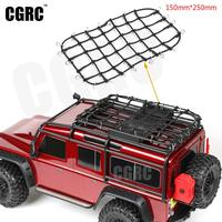 1:10 Rc Rock Crawler Elastic Luggage Net For Traxxas Trx 4 Trx4 Rc Car Accessories Rack A Rubber Band Net For Roof Rack
