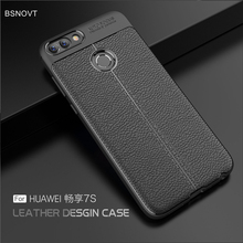 For Huawei P Smart Case Shockproof Luxury Leather Anti-knock Cover For Huawei Enjoy 7s Case For Huawei P Smart / Enjoy 7s 5.65 for huawei p smart case shockproof luxury leather anti knock cover for huawei enjoy 7s case for huawei p smart enjoy 7s 5 65
