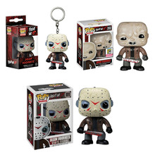 New Arrival Funko POP Friday the 13th Boy Collectible Model Toys #01 #202 JASON VOORHEES Action Figure Vinyl Dolls Birthday Gift new arrival pj masks vehicle characters slide cars catboy owlette gekko cloak action figure toys boy birhday gift for kids flyer