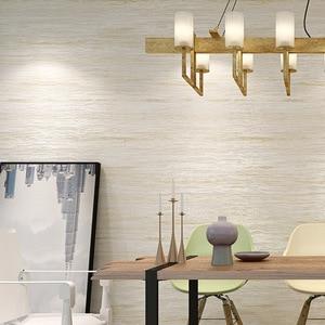 Image 3 - Papel tapiz metálico de mármol para decoración del hogar, papel tapiz liso de diseño Simple para dormitorio y sala de estar