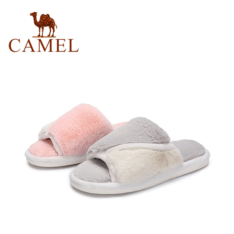 CAMEL Slippers Womens Zapatos Mujer