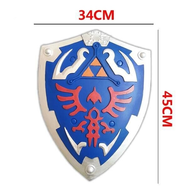 The Legend of Zelda Link's Cosplay equipment Skyward Sword / Shield PU&Foam Modele (Chinese Ver.) 3