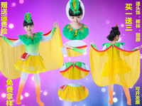 Children Cuckoo costumes birds animal dance clothing joy children Xiao Xiao style acting clothes female