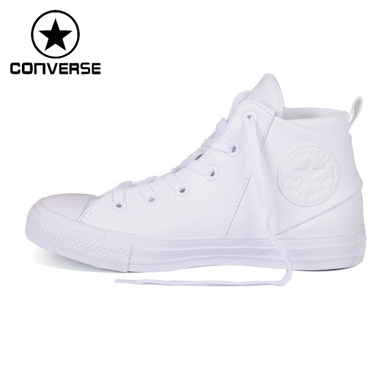Original Converse all satr sloane monochrome leather Women's Skateboarding Shoes Sneakers original converse selene monochrome leather women s skateboarding shoes sneakers