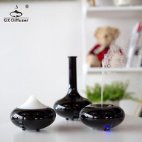 Black Fashion New Mini Air Purifier And Ultrasonic Humidifier Aroma Diffuser For Home And Office Make