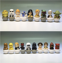 15pieces mixed 3.5cm Star Wars  PVC Action figure toys Adorable Collectible Model