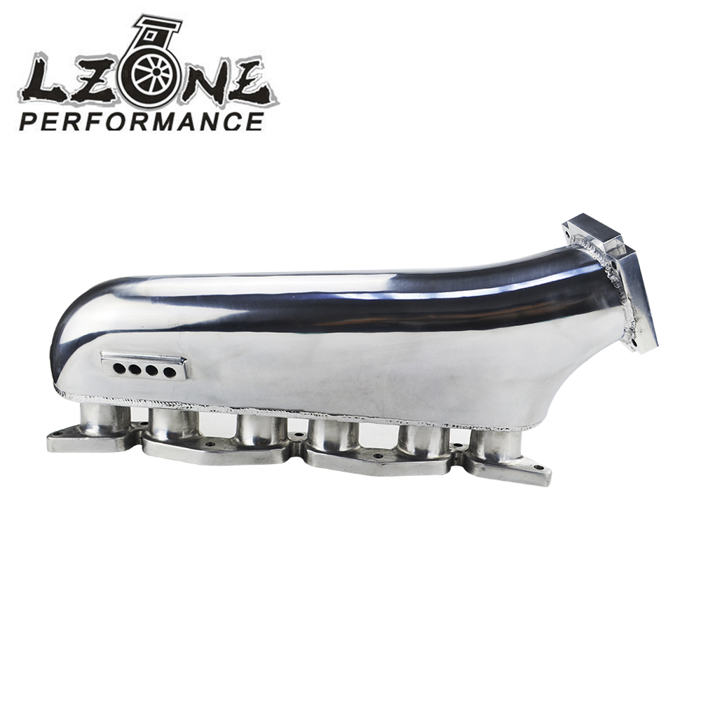 LZONE RACING - Polished Intake manifold for Toyota supra 1jzgte 1jz jzz30 turbo intake manifold JR-IM39-PH