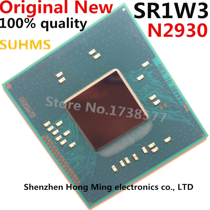 100% New SR1W3 N2930 BGA Chipset