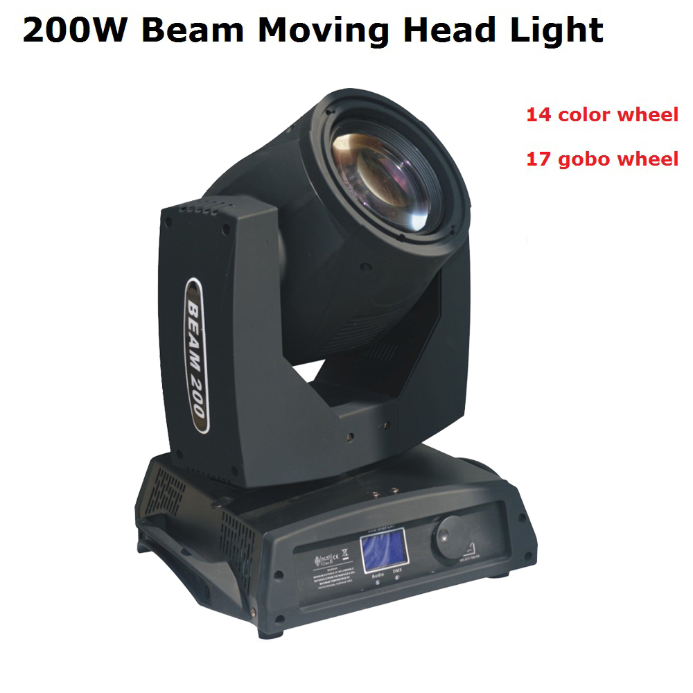 High Quality 1Pcs/Lot Sharpy Beam 200W 5R Moving Head Light/ Beam 5R Beam 200W DMX Disco Lights For Stage DJ Disco Nightclubs 2pcs lot high quality dmx touch screen light beam moving head light 330w sharpy 15r