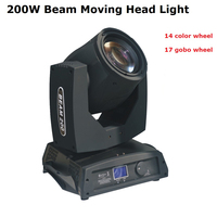 High Quality 1Pcs/Lot Sharpy Beam 200W 5R Moving Head Light/ Beam 5R Beam 200W DMX Disco Lights For Stage DJ Disco Nightclubs