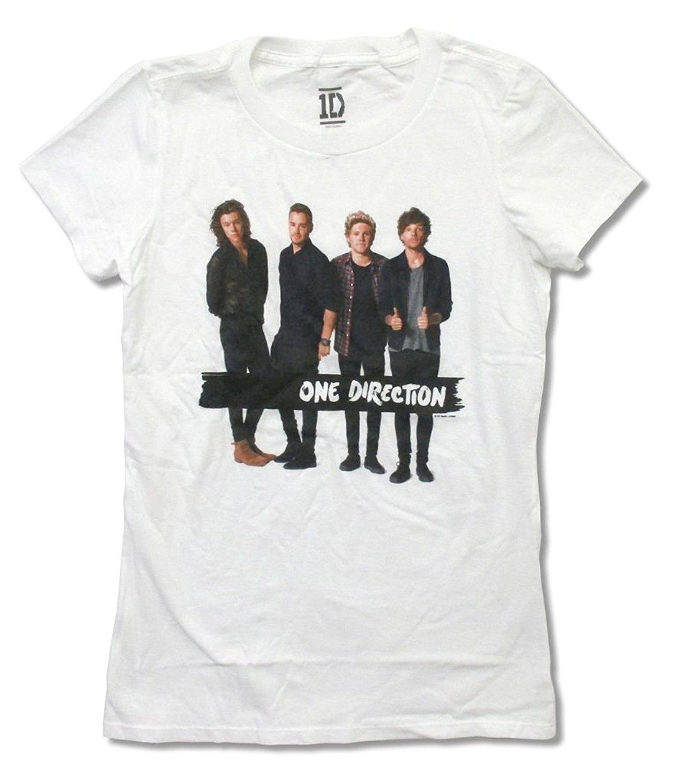 Fashion Men 39 S Summer T Shirt One Direction Black Strip