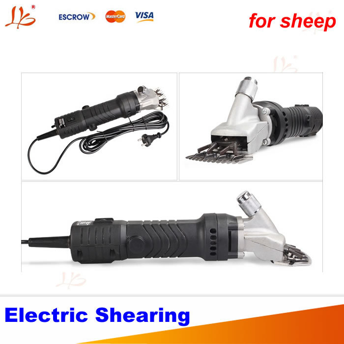 350W Electric Shearing, Clipper Shear Sheep Goats Alpaca Farm Shears, low noise, speed adjustment lesions of skin of sheep and goats due to external parasites