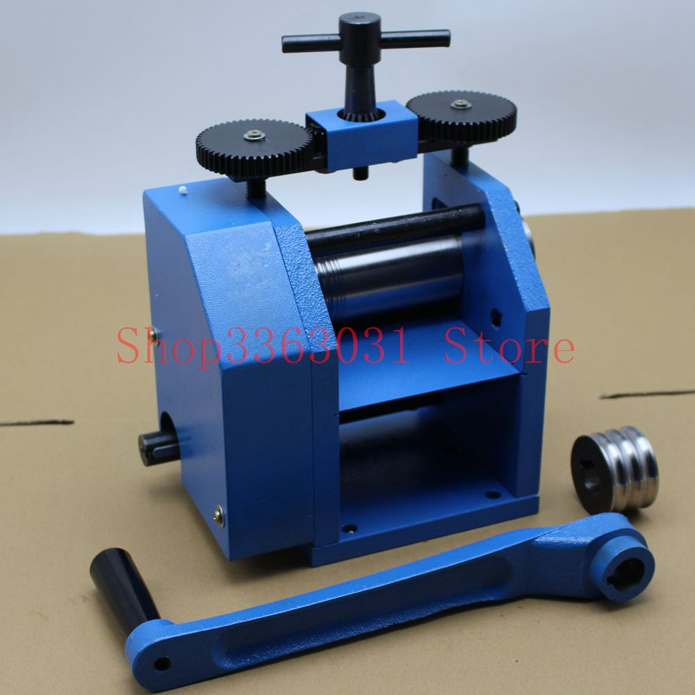 Jewelry Rolling Mill European Manual Operation Tablet Machine Jewelry Tool and Equipment abrasive jewelry tool hanging mill