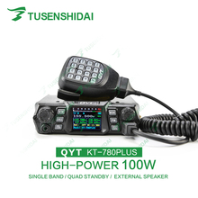 High Quality CTCSS/DCS/5 Tone/2 Tone/DTMF VHF Car Radio Transceiver KT-780PLUS