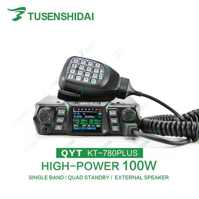 High Quality CTCSS/DCS/5 Tone/2 Tone/DTMF VHF Car Radio Transceiver KT-780PLUS