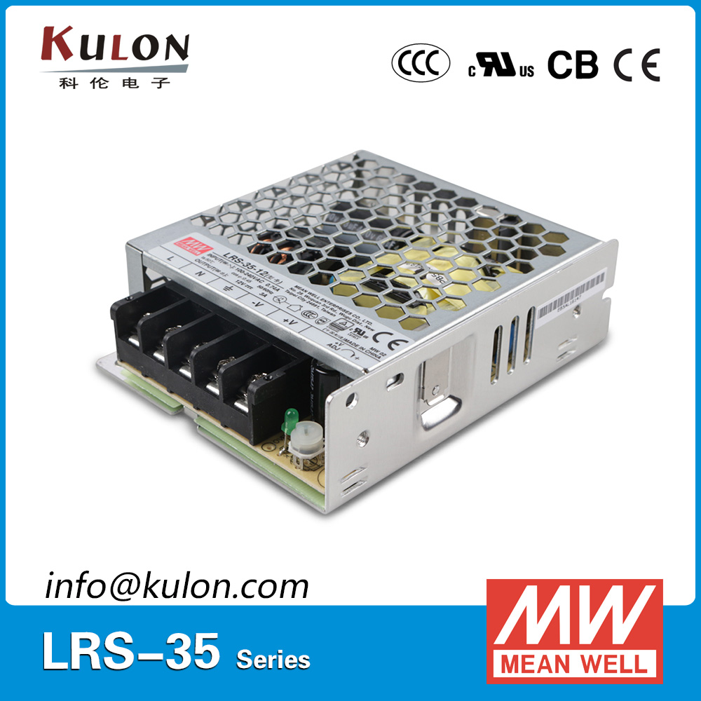 genuine mean well lrs 35 5 85 264vac to 5vdc 35w 5v 7a meanwell