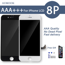 10PCS/LOT Quality AAA No Dead Pixel LCD For iPhone 8 Plus LCD Touch Screen Digitizer Assembly Display Replacement Free Shipping 5pcs lot grade aaa quality no dead pixel for iphone 6 plus lcd touch display screen digitizer assembly free shipping of dhl