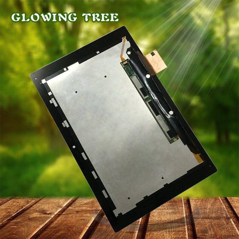 Noir Pour Sony Xperia Tablet Z 10.1 SGP311 SGP312 SGP321 Plein Écran Tactile Digitizer Verre + LCD Moniteur à Écran l'assemblée