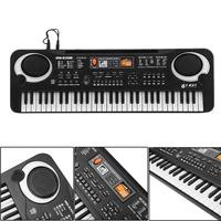 61 Keys Electronic Music Keyboard Electric Organ with Microphone Children Early Educational Tool ALS88