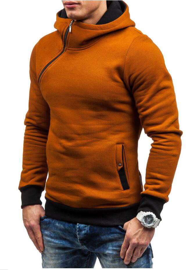 HEYKESON Brand 2017 Hoodie Oblique Zipper Solid Color Hoodies Men Fashion Tracksuit Male Sweatshirt Hoody Mens Purpose Tour XXL HEYKESON Brand 2017 Hoodies, with an chest Zipper HTB1BVrJSFXXXXbcXFXXq6xXFXXX0