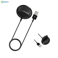 Hangrui 1m USB charger cable For Samsung Gear Fit 2 R360 Charging charger Holder For Samsung Gear Fit2 R360 II Fitness Tracker
