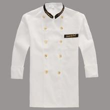 Chef Costume Winter Chocolate Dress Chef Dress Long Sleeve Chef Workwear Winter Chef Garment Chef Worker