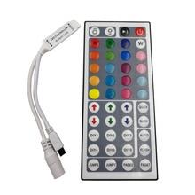 24 คีย์ 44 คีย์ LED RGB Controller DC12V IR Remote Controller สำหรับ SMD 3528 5050 ไฟ LED RGB LED Strip