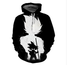 Anime Hoodie Men 3D Print Dragon Ball Z Hooded Sweatshirts Natsu Hoodies Pullovers Mens Naruto Long Sleeve Outerwear S-5XL