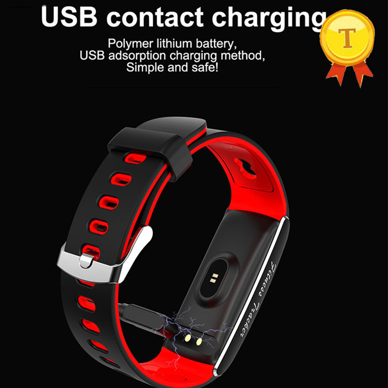 все цены на Original smart band heart rate blood pressure blood oxygen monitor fitness tracker message reminder samrtband pk xiomi mi band 2 онлайн