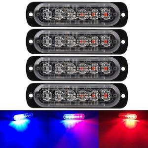 Blue&red police Caution light