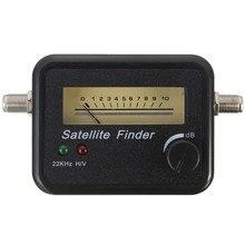 2016 nueva llegada de la alta calidad de señal Digital por satélite del sintonizador del receptor FTA HD monitores Meter Finder mejor Sky plato